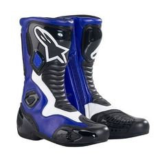 quality design ab843 e616d Alpinestars S-MX 5 Men s Performance Road Riding Street Racing Motorcycle  Boots – Blue. Ropa De ...