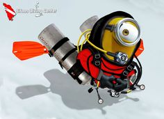 This minion is dedicated to Scuba Steve Riddle :-)