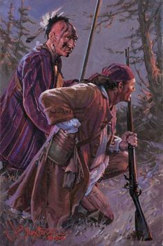 18th Century Long Hunting Clothing   Brothers Of Intent By John Buxton.