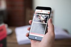 GoNutrition Ecommerce mobile website.