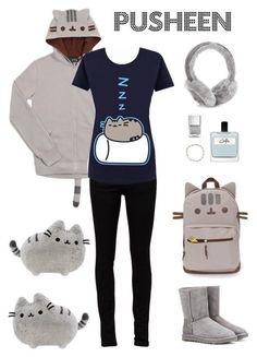 """Pusheen"" by shoujoandmore Winter Outfits, Cool Outfits, Summer Outfits, Casual Outfits, New York Fashion, Teen Fashion, Fashion Trends, Boating Outfit, Kawaii Fashion"