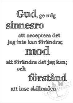 Textprint Sinnesrobönen - HojnaDesign.se