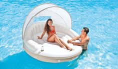 Temporary Price Reduction!!!  Inflatable Lounge Island Pool Shade Lake River…