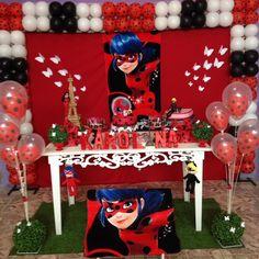 Feita com todo amor para minha princesa 😍😍😍😍😍😍😍😍 Fall Birthday, 4th Birthday Parties, Unicorn Birthday, 2nd Birthday, Festa Lady Bag, Miraculous Ladybug Party, Ladybug Crafts, Ten Year Anniversary, Ladybug Decor