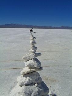 A balancing act.