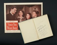Love, Shirley Temple, Take Two: From Schoolgirl to Storybook: 266 Shirley Temple's Cast-Autographed Copy of the 1943 Book Since You Went Away
