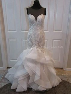 14916d3098ca 100% Authentic Blakely Marie by The Last Minute Bride Wedding Dress .This  dress has