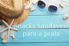Os snacks ideais para levar para a praia deverão ser simples de preparar e de comer, fáceis de digerir e deverão também conter alimentos ricos em água e sais minerais, de modo a manter-te hidratada. Assim sendo, aqui ficam algumas ideias de snacks saudáveis para levar para a praia: