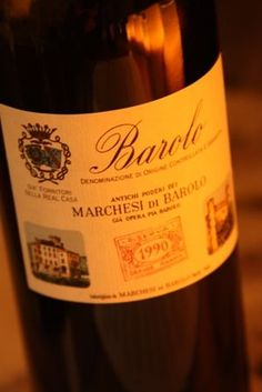 Marchesi di Barolo- another winery we went to in Barolo, Italy.