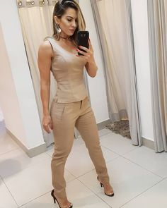 Ourfit, Dress Pants, Jumpsuits, Khaki Pants, Tights, Trousers, Lady, My Style, Womens Fashion