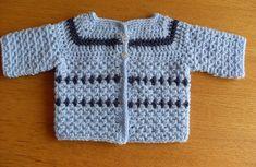 Baby vestje haken - Forum - Hobbydoos.nl Crochet Diagram, Crochet Shawl, Crochet Baby, Knit Crochet, Crochet Patterns, Baby Jokes, Baby Vest, Baby Born, Kids Outfits