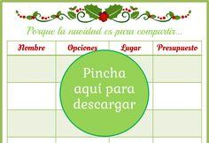 Tus Nanny Tips: Inauguramos temporada navideña con este imprimible: La lista de regalos!