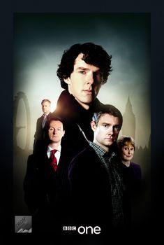 Sherlock series poster by crqsf.deviantart.com on @deviantART