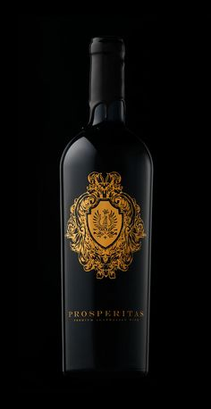 Prosperitas Wine (Branding and Label Design) on Behance