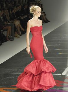 Valentino s/s 2008...Would love something like this in champagne
