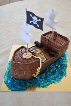 bateau pirate pate a sucre