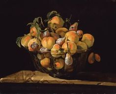 Giovanni Paolo Spadino Peaches and Pears in a Glass Bowl century Harry And David, Realistic Oil Painting, Hair Raising, Oil Painting Reproductions, 3 Arts, Museum Of Fine Arts, Portrait, Still Life, Boston