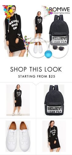 """""""Romwe V/4"""" by a-camdzic ❤ liked on Polyvore featuring WithChic"""