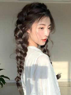 Cute Simple Hairstyles, Easy Hairstyles, Image Fashion, Kawaii Hairstyles, Hair Reference, Girl Short Hair, Aesthetic Hair, Dream Hair, Blue Hair