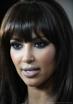 {don't care for Kim but love her bangs. -R}