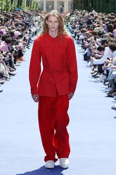 ae8b7b35b26116 A look from the Louis Vuitton Men s Spring-Summer 2019 Collection  35 Virgil  Abloh