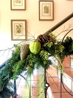 How To Decorate Your Home Using Organic Materials For Christmas   Joining  The 12 Days Of Christmas Bloggers Tour