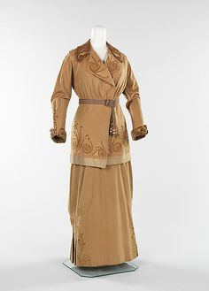 Wool and silk suit 1913.