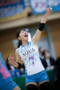 Sport Girl, Volleyball, Asics, Tennis, Aqua, Japan, Female, Athletes, Girls