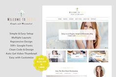DaiSy - A Responsive WordPress Blog by lazathemes on @creativemarket