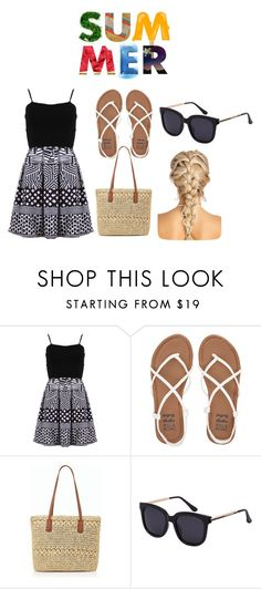"""""""Summer Outfit"""" by jsd13711 on Polyvore featuring FRACOMINA, Billabong and Talbots"""