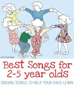 Best Songs for 2-5 Year Olds (from Let's Play Music)