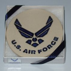 U.S. Air Force Symbol Stoneware Coaster