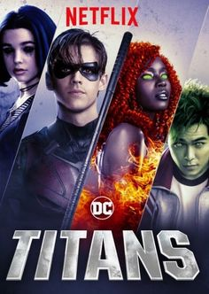 "Check out ""Titans"" on Netflix Beast Boy, Teen Titans Go, Deathstroke, Titans Tv Series, Hearly Quinn, New Titan, Wonder Twins, Dc World, Arte Dc Comics"