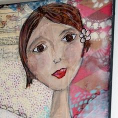 Mixed Media Collage Tutorials | Mixed media collage tutorial! by rosalind