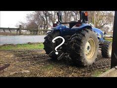 Today we do some quick chores and I'll show you one of my favorite three point attachments. 3 Point Tractor Attachments, Tractors, Homemade, My Favorite Things, Youtube, Diy, Home Made, Bricolage, Do It Yourself