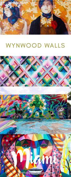 Die bunten Wände in Miami? Wo finde ich die? Das sind die Wynwood Walls, ein Open-Air-Museum voll mit Street Art in Wynwood! Erfahre mehr auf dem Blog!