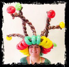 Rasta ballon hat by Clown Tallie