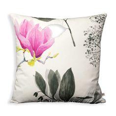 """Designers Guild Mokuren Designer Fabric Graphite Lilac Sofa Throw Cushion Cover 20"""""""