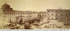 Preplaza del 2 de Mayo en 1869.