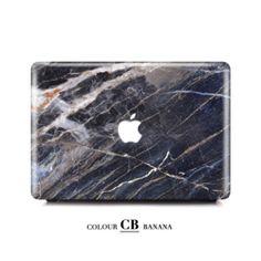 Macbook Case - Manhattan Honed Marble   Colourbanana