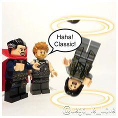 Thor has a Strange sense of humour                                ...