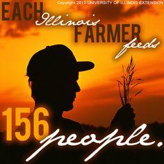 No farms, no food #illinois