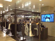 All Saints shop in de Bijenkorf Amsterdam.