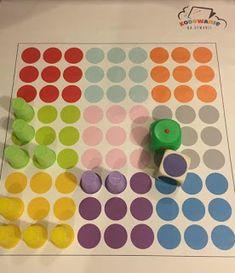 Kodowanie na dywanie: Kolor postaw...kolor zabierz Preschool Projects, Activities For Kids, 40th Wedding Anniversary, Social Platform, Kids And Parenting, Something To Do, Coding, Math, Handmade