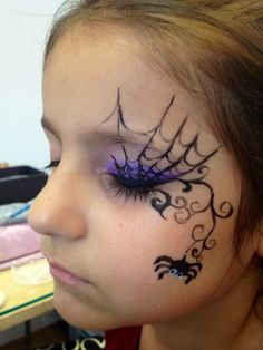 Sweetynailnspa - Apocalypse Now And Then Kids Witch Makeup, Kids Makeup, Scary Makeup, Face Painting Halloween Kids, Halloween Makeup For Kids, Witch Face Paint, Halloween Geist, Cool Makeup Looks, Spirit Halloween