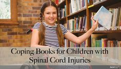 Coping Books for Children with Spinal Cord Injuries #sci #spinalcordinjury