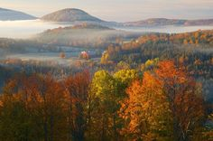 Northeast Kingdom Autumn View - William Pead  photo