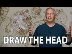 How to Draw the Head and Face / Portrait with Steve Huston PART 1 HD (3 HOURS LONG) - YouTube