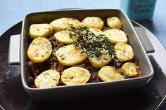 40 Gezonde Airfryer Recepten met Groenten - FrituurGezond.nl Ratatouille, Baked Potato, Broccoli, Potatoes, Chicken, Meat, Baking, Ethnic Recipes, Food