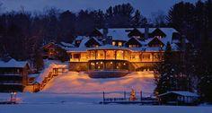 Lake Placid Lodge! <3